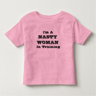 FEMME MÉCHANTE dans l'habillement de bébé de T-shirt Pour Les Tous Petits