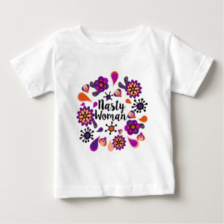 Femme méchante t-shirt pour bébé