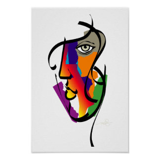 Femme multiculturelle poster