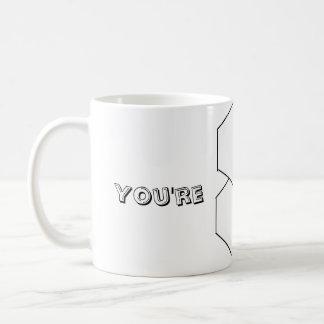 Femme superbe vous êtes superbes mug