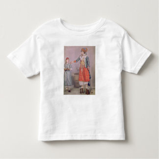 Femme turque avec son employé t-shirt