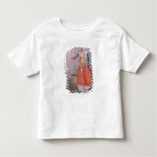 Femme turque avec son employé t-shirts