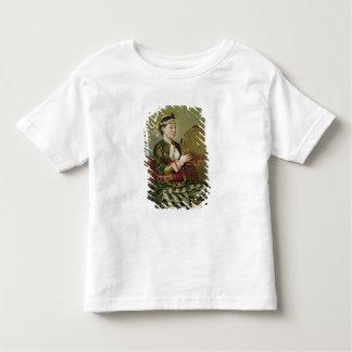 Femme turque avec un tambour de basque t-shirt pour les tous petits