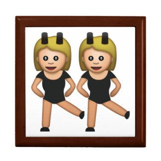 Femmes avec le lapin - Emoji Boîte À Souvenirs