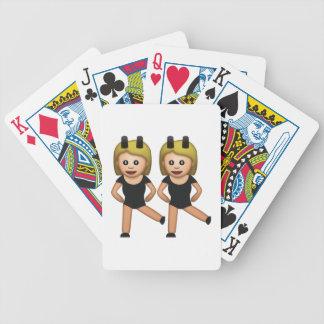 Femmes avec le lapin - Emoji Jeu De Cartes