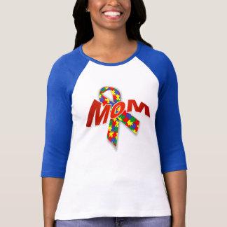 Femmes Bella de maman d'autisme 3/4 T-shirt de