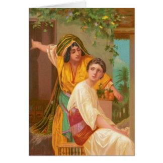 Femmes dans la bible - Martha et Mary Carte De Vœux