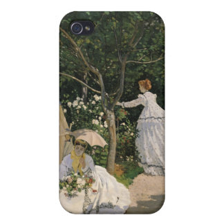Femmes de Claude Monet | dans le jardin, 1866 Étuis iPhone 4