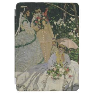 Femmes de Claude Monet   dans le jardin Protection iPad Air