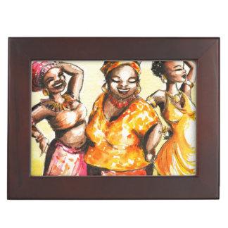 Femmes de danse boîtes à souvenirs