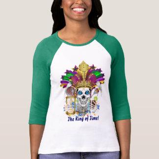 Femmes de mardi gras toute la lumière de styles t-shirt