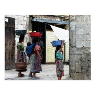 Femmes de Maya, Antigua, Guatemala Carte Postale