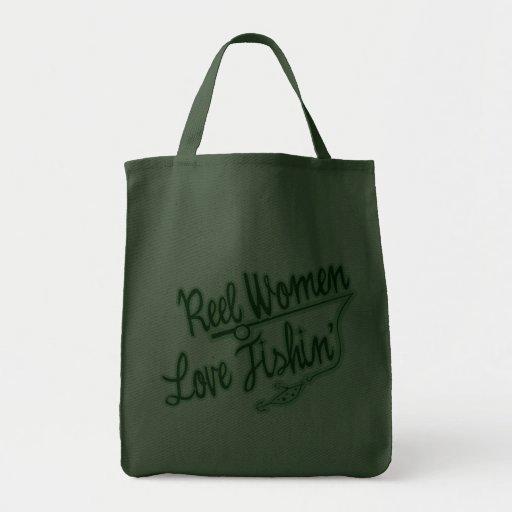 Femmes de pêche d'amour de femmes de bobine extéri sacs