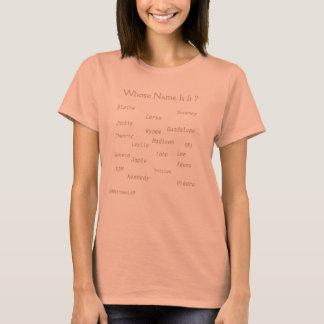 """Femmes """"de T-shirt de base"""" de MMetropolim"""