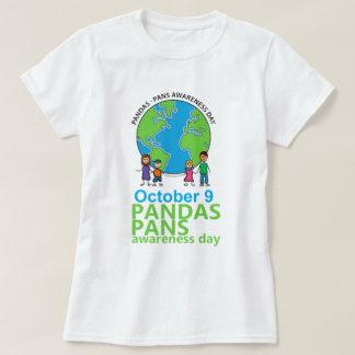 Femmes de T-shirt de jour de conscience de