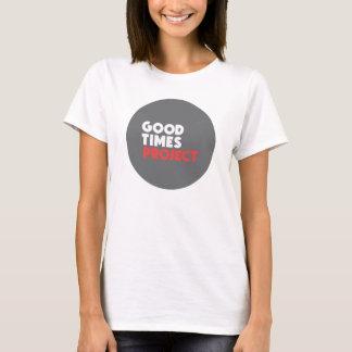 Femmes de T-shirt de projet de Goodtimes