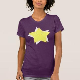 Femmes de T-shirt de scintillement d'images de