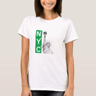 Femmes de T-shirt de statue de liberté de NYC New
