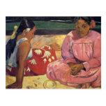 """""""Femmes de Tahitian sur la carte postale de"""