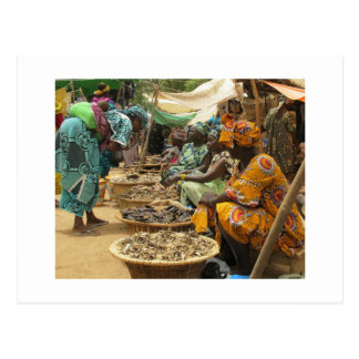 Femmes du Mali au marché de lundi, Djenne-3 Cartes Postales
