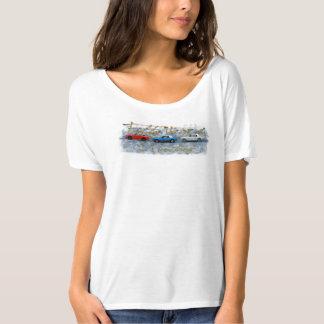 Femmes du mustang 50 t-shirt