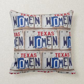 Femmes du Texas Coussin Décoratif