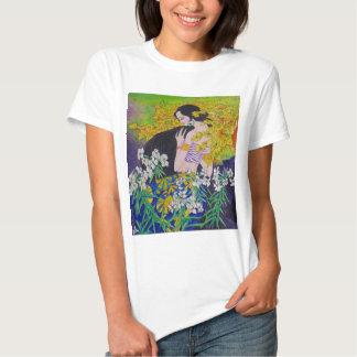 Femmes ethniques de minorité de Chinestyle T-shirt