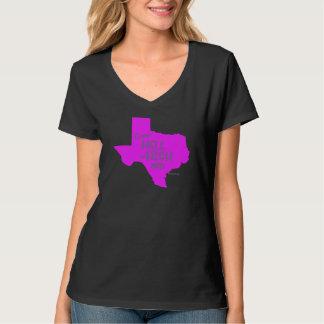 Femmes fortes de T-shirt de #Texas d'enfer ou de