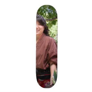 Femmes japonaises skateboards customisés