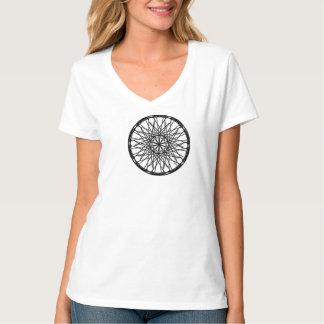 Femmes, oeil de Londres de T-shirt