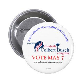 Femmes pour Elizabeth Colbert Busch Badge