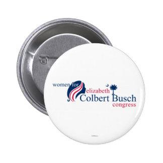 Femmes pour Elizabeth Colbert Busch Pin's