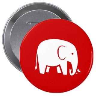 Femmes républicaines pour le bouton de logo de badge
