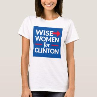 FEMMES SAGES POUR la pièce en t carrée de logo de T-shirt