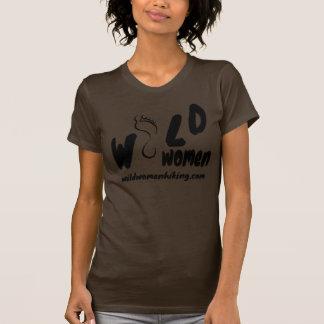 Femmes sauvages augmentant T organique T-shirts
