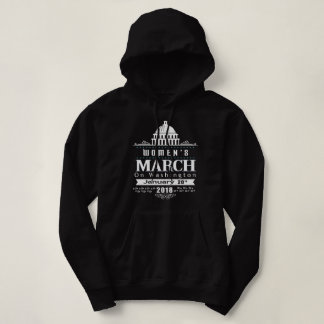 Femmes T-shirt de Washington DC en mars 2018