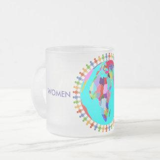 Femmes unies tasse givré