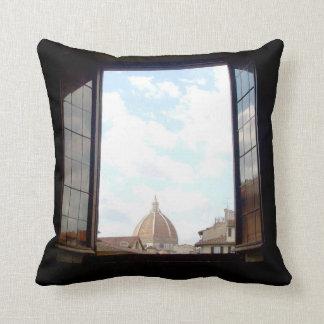 Fenêtre au coussin de Florence