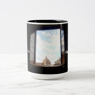 Fenêtre dans la tasse de Florence
