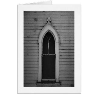 Fenêtre d'église cartes