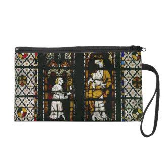 Fenêtre dépeignant la Vierge et le Raoul de Ferrie Dragonne