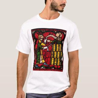 Fenêtre dépeignant un vendeur de baril, c.1300 t-shirt
