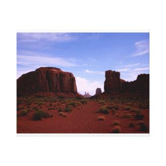Fenêtre du nord, vallée de monument, Arizona Toiles