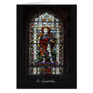 Fenêtre en verre teinté de St George - dans la Carte De Vœux