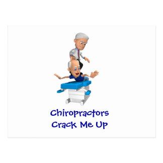 Fente de chiroprakteurs je vers le haut des cartes