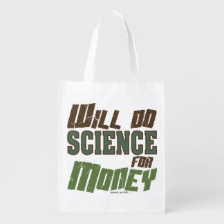 Fera la Science pour l'argent Sac Réutilisable