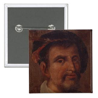 Ferdinand Columbus Pin's Avec Agrafe