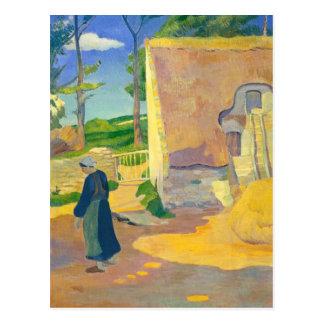 Ferme chez Le Pouldu, 1890 (huile sur la toile) Carte Postale