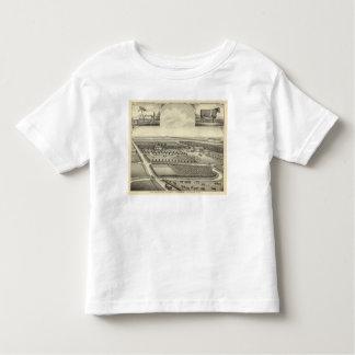 Ferme de Berggren, Nébraska T-shirt Pour Les Tous Petits