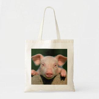 Ferme de porc - visage de porc sac